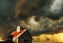 storms / by Lyons Roofing
