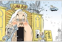 Clive Palmer with co-incidences