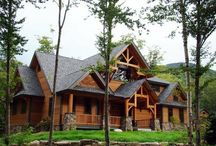 Log Cabins, Barns and Beautiful Landscape / by Jenni Upton Cassidy