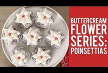 Zdobení dorty, kytky, cupcakes