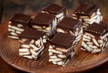 Σοκολατενια κυβακια με μπισκοτα
