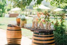 Wedding Déco apéro automne