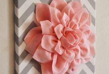 telas com flores
