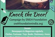KnockTheDoor! A campaign by SNEH Foundation. / The Idea is to involve privilege section of the society to help the marginalized section. From TrashtoCash, If you have got some trash, do give us a call. Our representative will pick up the trash. The trash will then be sold, and the earned amount will be used for the underprivileged.  Put the trash to use, and let us cash the trash. The donor calls-9764017911