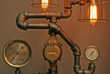 Lampes rustiques