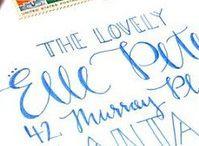 Calligraphy envelopes / Beautifully wrote envelopes
