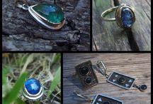 Украшения из серебра / Украшения ручной работы из серебра с натуральными камнями