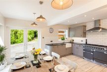 Cool kitchens / Property for sale in North Devon with beautiful kitchens