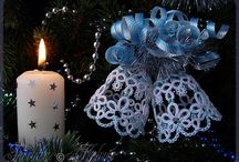 Christmas crochet tatting and more