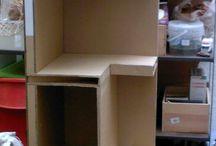 móveis em papelso