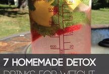 Weight detox water