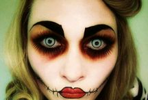 Halloween make~up / by Andrea Rogers