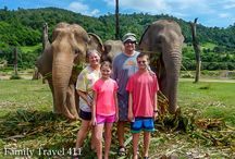 Thailand with Kids / Ideas & advice for visiting Thailand with kids. #familytravel #Thailand