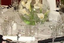 centros de mesa para cena de gala