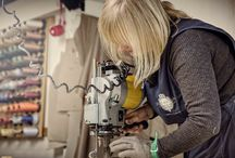 O U R C H E S H I R E W O R K S H O P / Behind the scenes in our furniture manufacturing workshop. Bespoke, hand crafted, made in England.