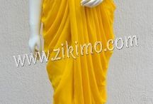 Dhoti Style Salwar Suit