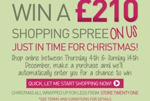 Win £210 Shopping Spree! At www.storetwentyone.co.uk / Hello, how would you like the opportunity to win a £210 shopping spree on us!  www.storetwentyone.co.uk   Any customer either 'registered' or 'guest' that shops online between Thursday 4th & Sunday 14th December, that makes a purchase will automatically be entered for a chance to win.   Good luck everyone! Happy Shopping xxx