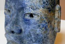 Antiquity art in BLUE