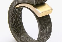 Metal clay rings