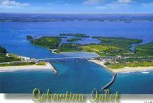 Sebastian Inlet / Sebastian Inlet State Park has so much to offer - the beach, the river - camping, boating, canoeing, kayaking, fishing, swimming, surfing, kite boarding, wind surfing...