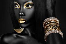 золото и черное