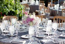 Pink & Silver Wedding