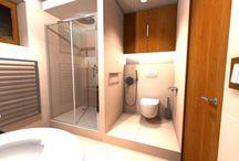 KOUPELNY a WC  -Fürdőszoba, WC