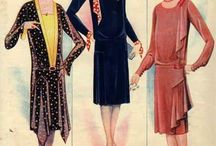 Fashion of 1920 - 1930. / Vintage of 1920 - 1930s.