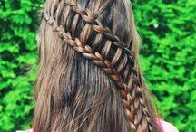 Waterfall French Braid Hairstyles
