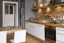 Interni della cucina