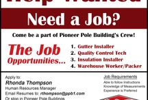 Pioneer Pole Building's Job Opportunities