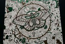 #Tintapillangó / Johanna Basford Ivy and the Inky Butterfly Írisz és a tintapillangó