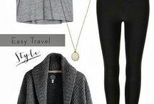 Alex's neutral closet (winter)