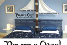 Pirate bedroom / by Naomi