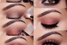 Make Up / Вечерний / дневной макияж. Аксессуары для Make Up.