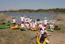 Leisure activities, Alqueva lake, Alentejo, Portugal