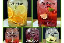 bebidas saludables / by Sabores y colores