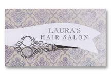 Placas de salão de cabeleireiro