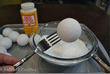 diy styrofoam balls
