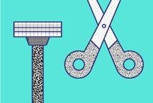 cutting hair tips