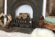 Natural Hide Throws and Rugs / The Bela Casa Home Collection of natural Sheepskin, cowhides, antelope throws and rugs.