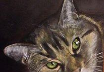 """Ritratti a olio di animali / ANIMALI Chi ha o ha avuto un animale, sa come questo sia """"uno di famiglia"""". Come per le persone, rappresentarlo attraverso un dipinto significa cercare di coglierne l'anima, di renderlo riconoscibile nella sua unicità."""