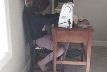 <Kid Sewing> / by Sew Sweet Quilt Shop