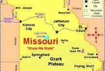 My MO / Living in Missouri  / by Debby Hawkins