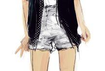 Fashion & Decor Illustrations