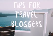 Travel Blogger Tips / Tips and tricks for travel bloggers
