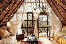 Boho/Vintage Abode / Bohemian and vintage inspired homes that make full use of my time spent daydreaming.