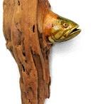 ryby z drewna