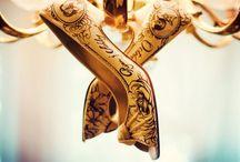 Inked Wedding Shoes
