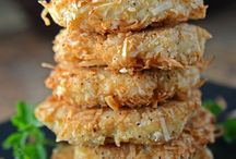 Coconut crusted patties